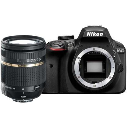 Nikon D3400 + Tamron 18-270mm VC