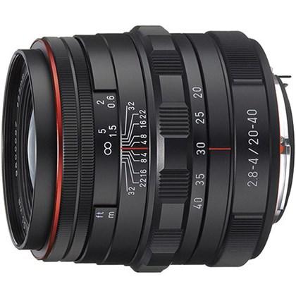 עדשה  RICOH PENTAX DA 20-40mm F2.8-4ED Limted DC WE Black S0023000