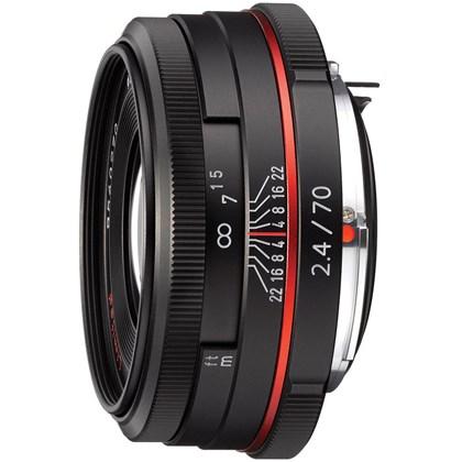 עדשה  RICOH PENTAX DA 70mm F2.4 Limted Black W/CASE  S0021430