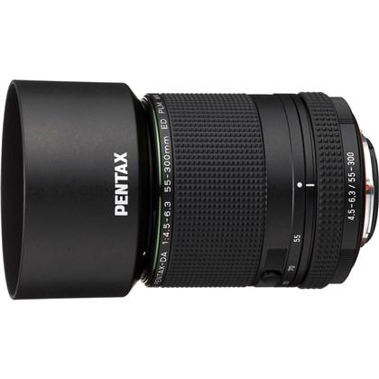 עדשה  RICOH PENTAX HD DA 55-300mm F4.5-6.3ED PLM WR RE S0021277