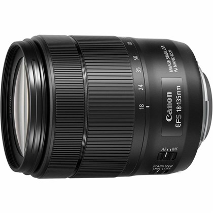 Canon EF-S 18-135mm f/3.5-5.6 NANO  IS USM Lens