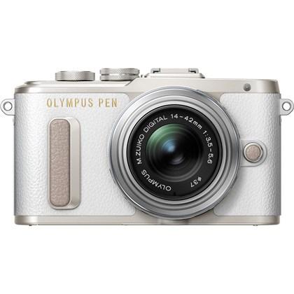 Olympus E-PL8 Kit (White) with M.ZUIKO 14-42mm EZ
