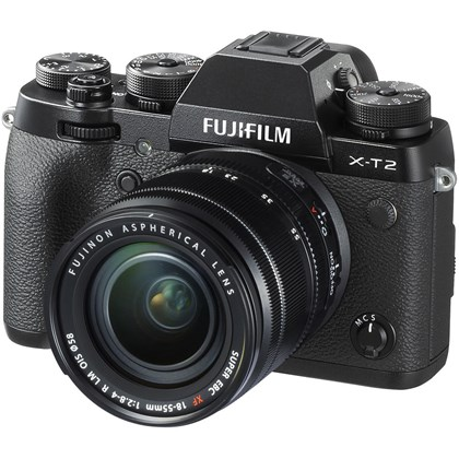 Fujifilm X-T2 + 18-55 Black