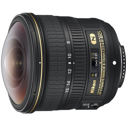 Nikon AF-S Fisheye NIKKOR 8-15mm f/3.5-4.5E ED Lens