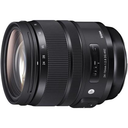 Sigma 24-70mm f/2.8 DG OS HSM Art Lens for Nikon