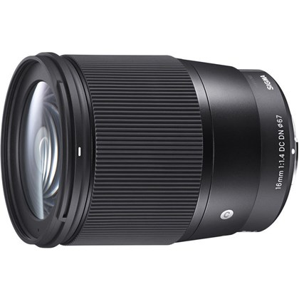 Sigma 16mm f/1.4 DC DN Contemporary Lens for Micro 4/3