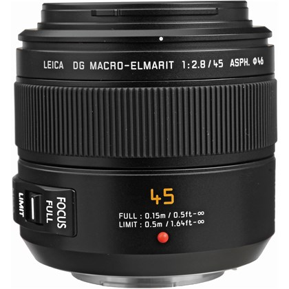 Panasonic 45mm f/2.8 עדשה