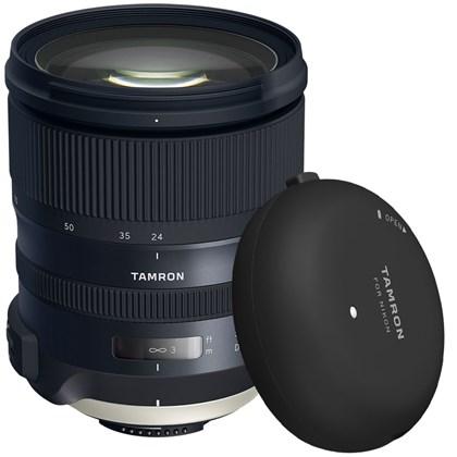 מצבע לזמן מוגבל בלבד! Tamron SP 24-70mm f/2.8 Di VC USD G2 Lens +Tamron Tap-in Console