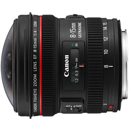 עדשת קנון זום סופר רחבה Canon 8-15mm f/4 L USM