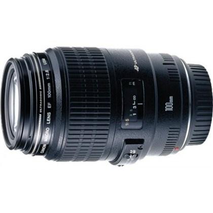 עדשת קנון  Canon 100mm f/2.8 USM macro