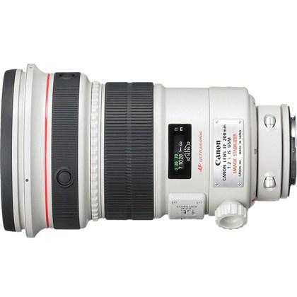 עדשת קנון טלפוטו מקצועית עם מייצב תמונה CANON 200mm f/2 L IS USM