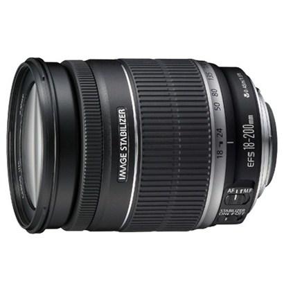 עדשת קנון טלפוטו זום חדשה  Canon 18-200mm f/3.5-5.6 IS