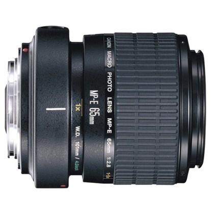 עדשת קנון מאקרו ייחודית Canon MP-E 65mm f/2.8 1-5x Macro Photo