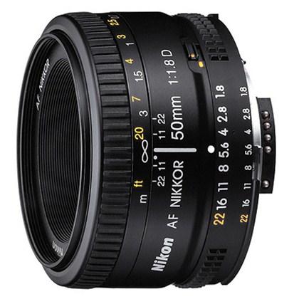 עדשת ניקון Nikon 50mm f/1.8 D AF