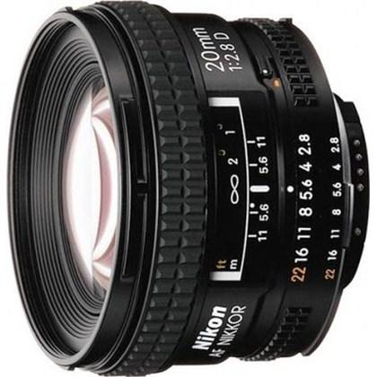 עדשת ניקון Nikon 20mm f/2.8 D AF