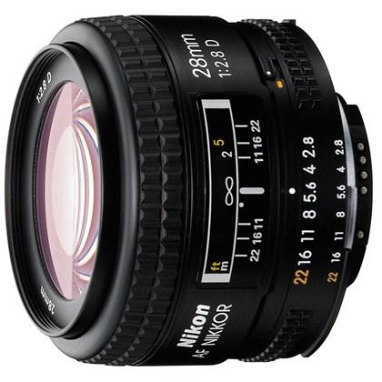 עדשת ניקון Nikon 28mm f/2.8 D AF
