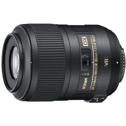 עדשת ניקון Nikon Lens 85mm f/3.5 G AF-S DX Micro ED VR