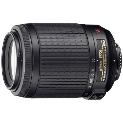 Nikon 55-200mm f/4-5.6 G ED VR עדשת ניקון