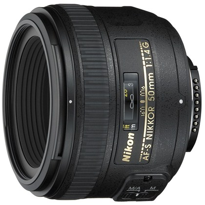 עדשת ניקון Nikon Lens 50mm f/1.4 G AF-S