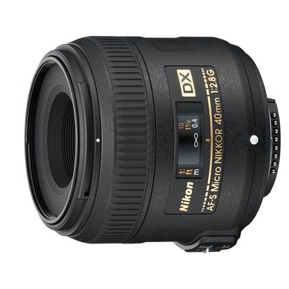 Nikon 40mm f/2.8 G AF-S DX Micro Lens  עדשת ניקון