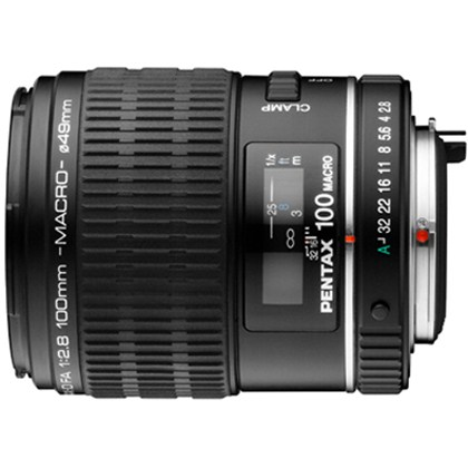 עדשה  פנטקס Pentax Telephoto SMCP-D FA 100mm f/2.8 Macro