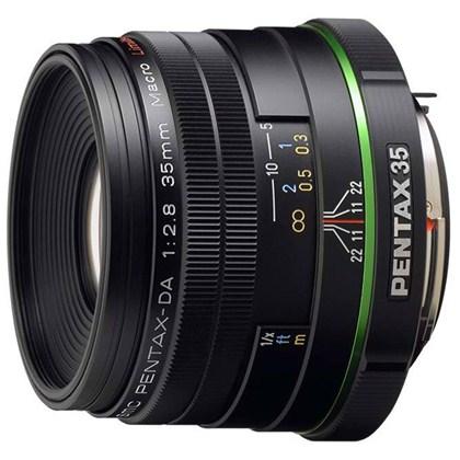 עדשה פנטקס Pentax lens RICOH DA 35mmF2.8 MACRO LIMITED BLACK W/C S0021450