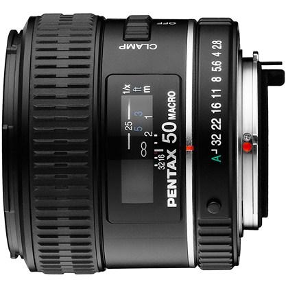 עדשה פנטקס Pentax lens RICOH D FA MACRO SMC 50mmF2.8 S0021530