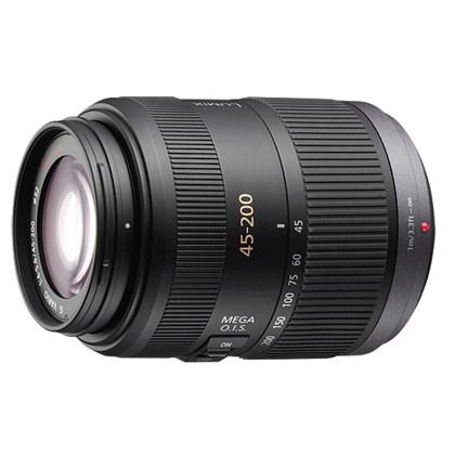 Panasonic 45-200mm f/4-5.6 G Vario MEGA O.I.S. Lens עדשה