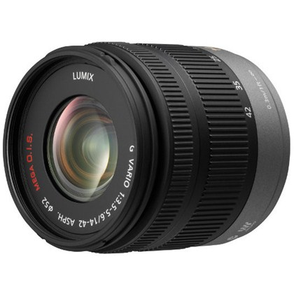 Panasonic 14-42mm F/3.5-5.6 Lumix G Vario Mega OIS Zoom עדשה