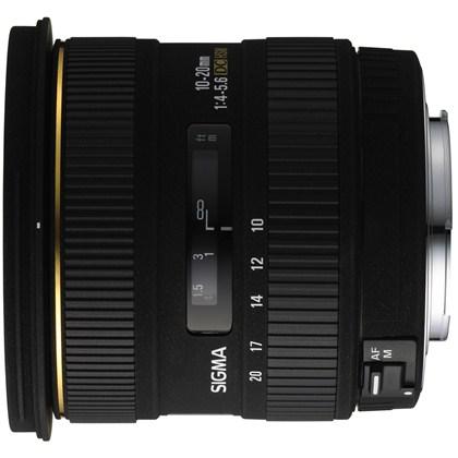 עדשת סיגמה למצלמות קנון SIGMA 10-20mm F4-5.6 EX HSM