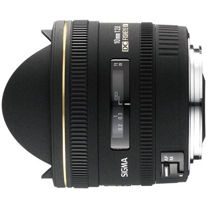 עדשת סיגמה למצלמות ניקון SIGMA 10mm F2.8 EX DC HSM