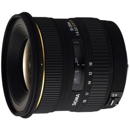 עדשת סיגמה למצלמות קנון SIGMA 10-20mm F3.5 DC HSM