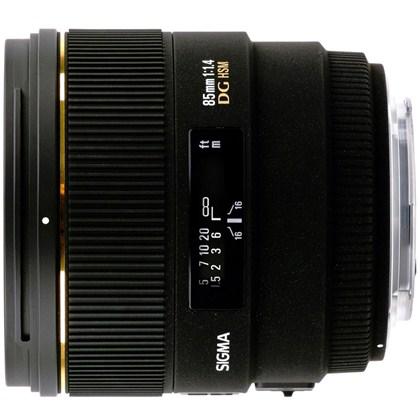 עדשת סיגמה למצלמות קנון SIGMA 85mm F1.4 EX DG HSM