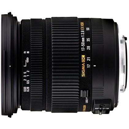 עדשת סיגמה למצלמות קנון SIGMA 17-50mm 2.8 DC OS HSM