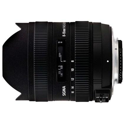 עדשת סיגמה למצלמות קנון SIGMA 8-16mm F4.5-5.6 DC HSM