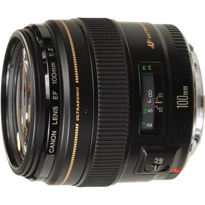 Canon 100mm f/2 USM עדשת קנון