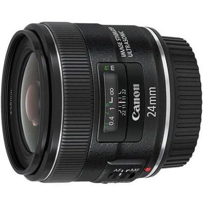עדשת קנון רחבה Canon 24mm f/2.8 IS USM II