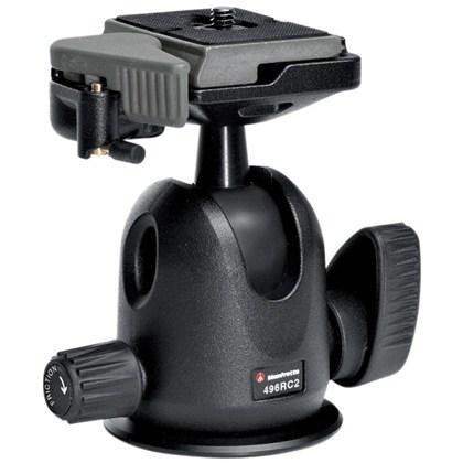 Manfrotto 496 COMPACT BALL HEAD with RC2