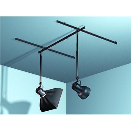 מערכת תלייה לתקרה : 2 מוטות