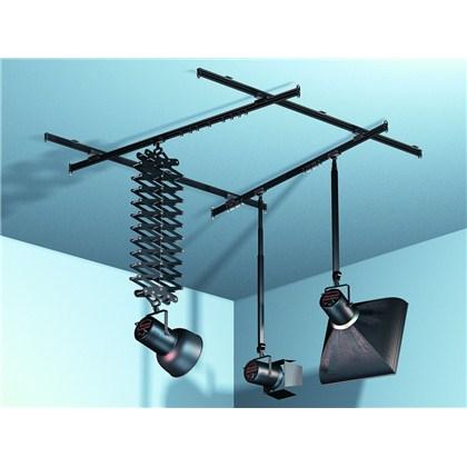 מערכת תלייה לתקרה : אקורדיון + 2 מוטות