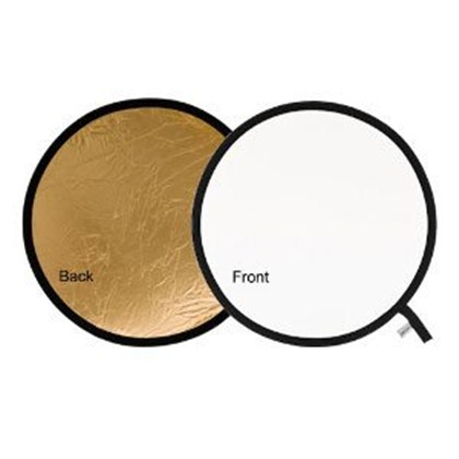 "Lastolite REFLECTOR 75CM (30"") GOLD/WHITE"