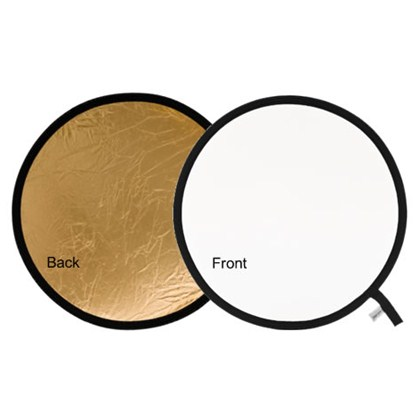 "Lastolite REFLECTOR 120CM (48"") GOLD/WHITE"