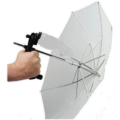 "Lastolite BROLLY GRIP KIT WITH HANDLE AND UMBRELLA 50CM (20"") TRANSLUCENT"