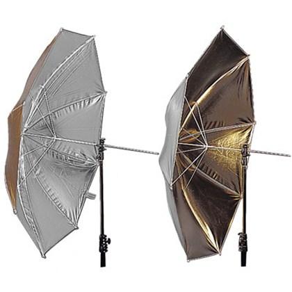 """מטרייה Lastolite UMBRELLA REVERSIBLE 100CM (40"""") SUNFIRE/SILVER"""