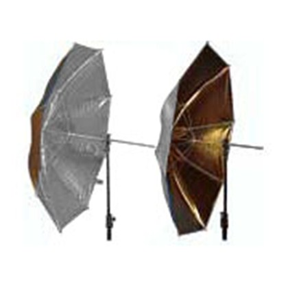 "מטרייה Lastolite UMBRELLA REVERSIBLE 100CM (40"") SILVER/GOLD"