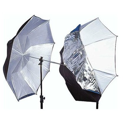 "מטרייה Lastolite UMBRELLA REVERSIBLE 100CM (40"") SILVER/WHITE"