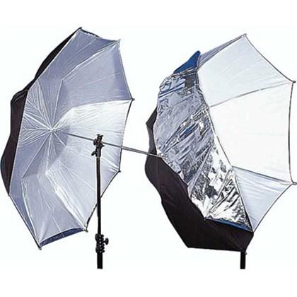 """מטרייה Lastolite UMBRELLA DUAL 100CM (40"""") BLACK/SILVER/WHITE"""