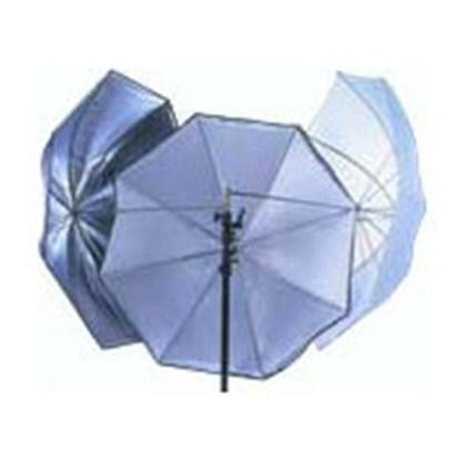 """מטרייה Lastolite UMBRELLA ALL IN ONE 100CM (40"""") SILVER/WHITE"""