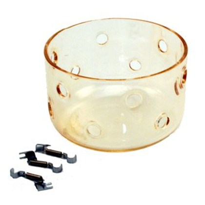GLASS DOME 400°K WARM (with fitting set)