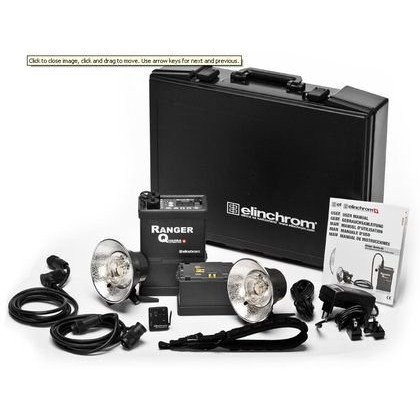 Elinchrom SET RANGER QUADRA CASE  TO GO S